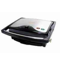 Kẹp nướng điện đa năng có hẹn giờ, công suất lớn nhỏ thân inox 2000W (NEW) Tiross TS9652