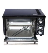 Lò nướng 14L bằng thanh nhiệt, 1200W, màu đen Tiross TS964