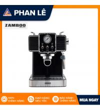 Máy pha cà phê Espresso Zamboo ZB90-PRO-đen
