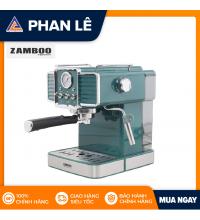 Máy pha cà phê Espresso Zamboo ZB90-PRO-xanh