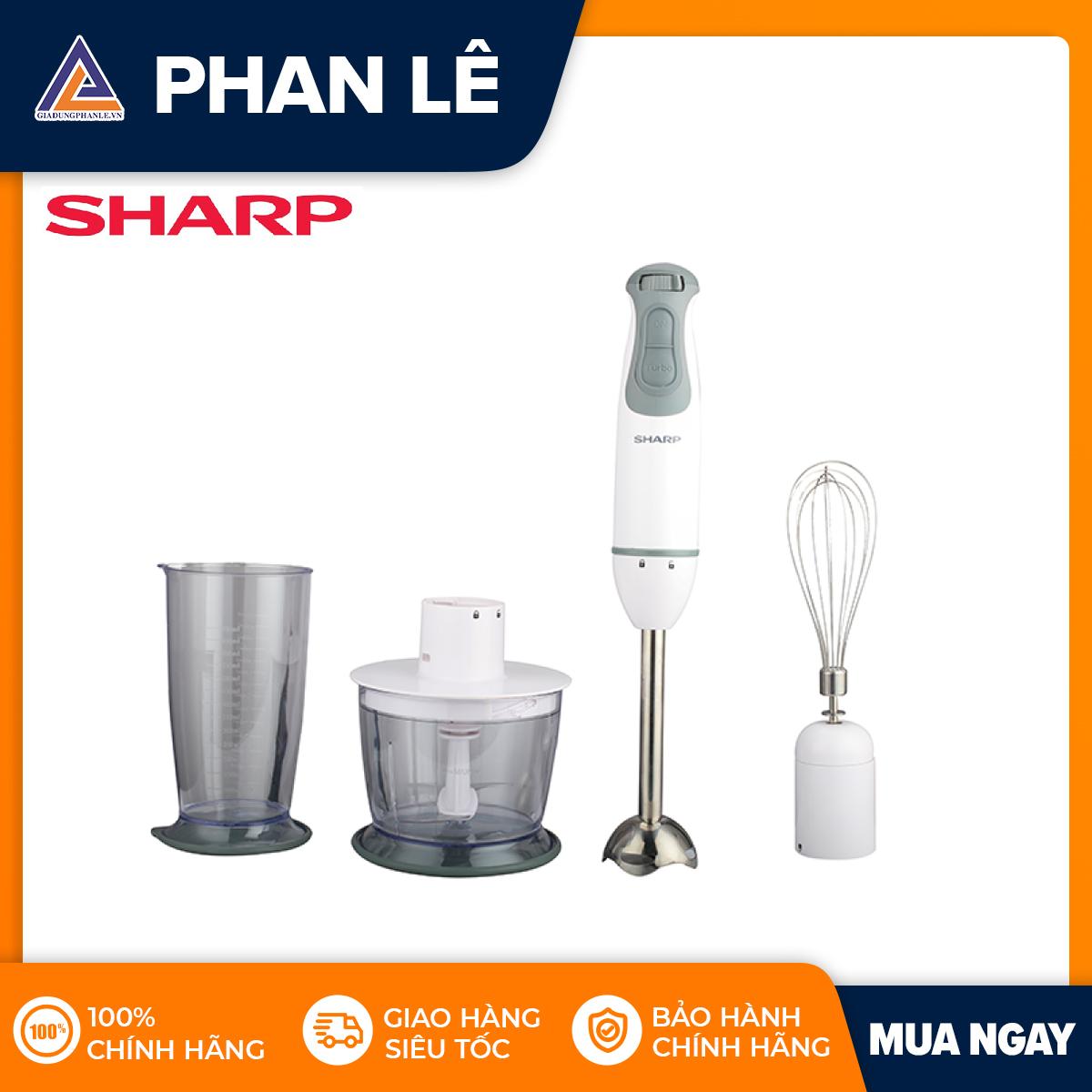 Máy xay cầm tay Sharp EM-H076SV-WH