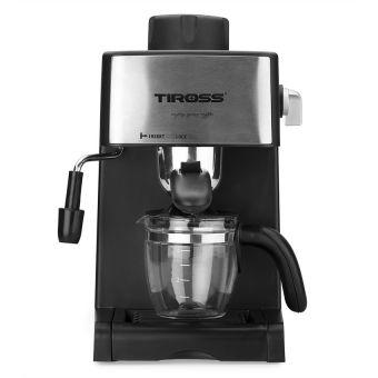 Máy pha cà phê Espresso 4 cốc tiross, 800W (hàng mới) Tiross TS621