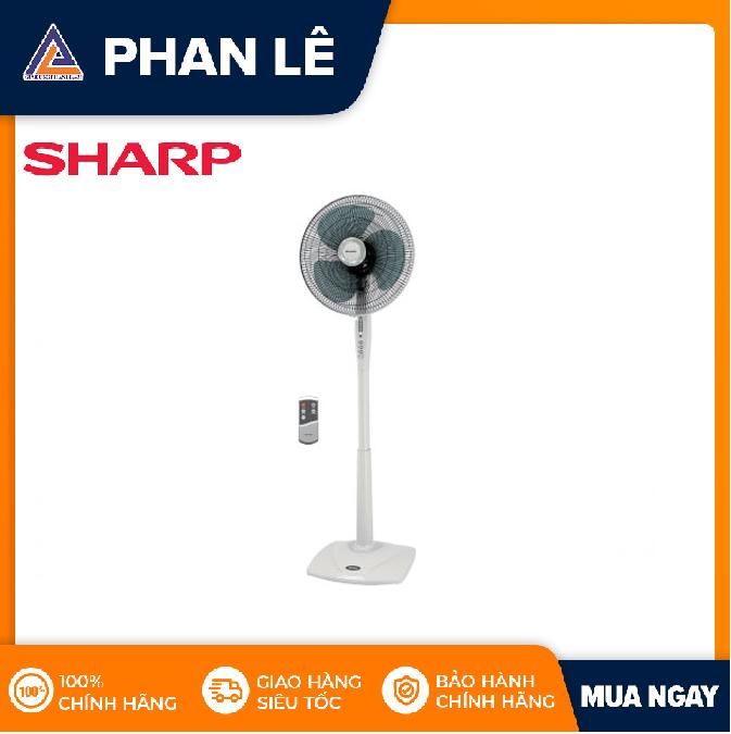 Quạt đứng Sharp PJ-S40RV-WH